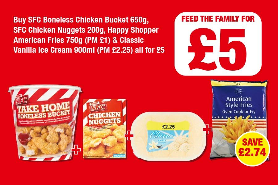 NP1-2020 - Feed the Family for £5 at Family Shopper