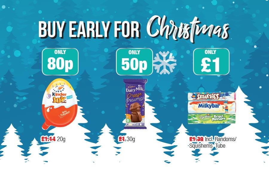 Buy Early for Christmas at Family Shopper