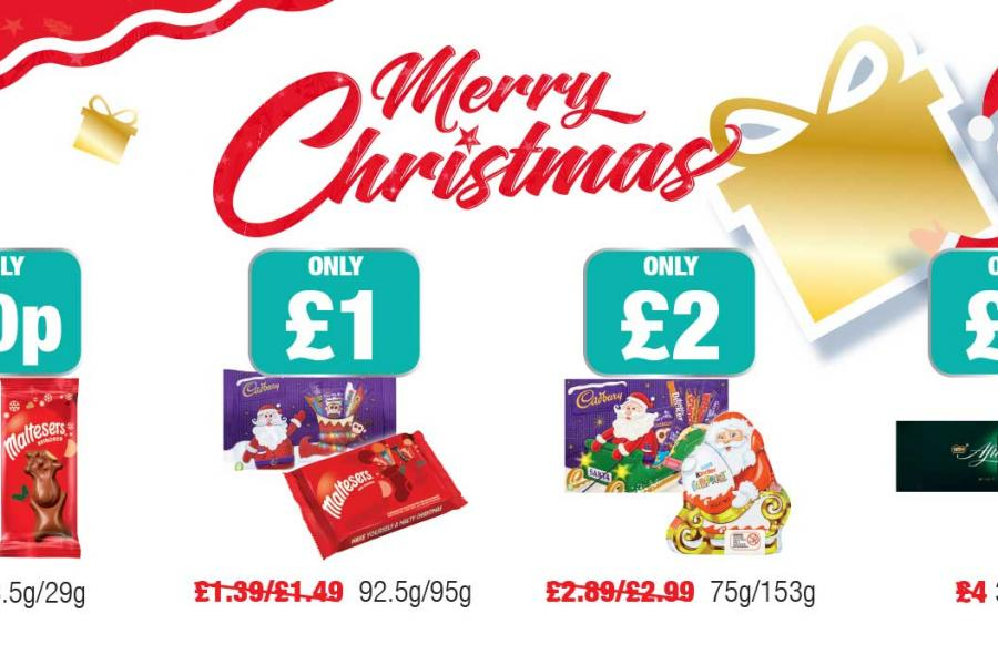 Merry Christmas - Christmas Offers at Family Shopper